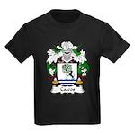 Cascos Family Crest Kids Dark T-Shirt
