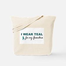 I Wear Teal For My Grandma 2 Tote Bag