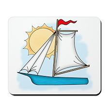 Summer Sailboat Mousepad