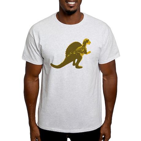 Retro Gold Spinosaurus Light T-Shirt
