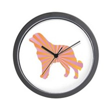 Ovcharka Rays Wall Clock