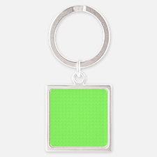 Plain lime Green Keychains
