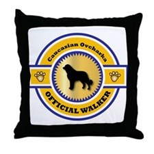 Ovcharka Walker Throw Pillow