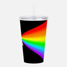 Rainbow Prism Acrylic Double-wall Tumbler