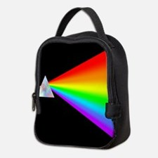 Rainbow Prism Neoprene Lunch Bag
