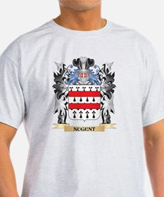 Nugent Coat of Arms - Family Crest T-Shirt