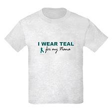 I Wear Teal For My Nana 2 T-Shirt
