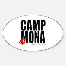 Camp Mona Kiss Decal