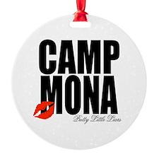 Camp Mona Kiss Ornament