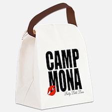 Camp Mona Kiss Canvas Lunch Bag