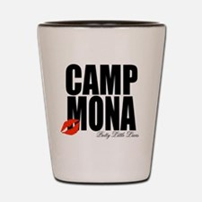 Camp Mona Kiss Shot Glass