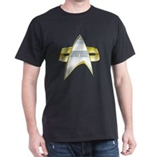 StarTrek NG Com badge T-Shirt
