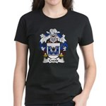 Casals Family Crest Women's Dark T-Shirt