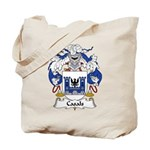 Casals Family Crest Tote Bag