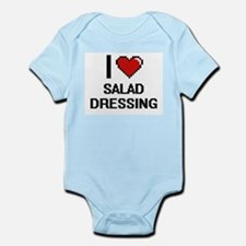 I Love Salad Dressing Digital Design Body Suit