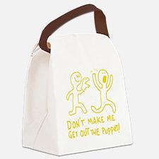 Unique Puppetry Canvas Lunch Bag