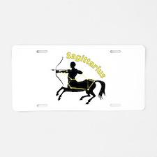 Sagittarius Aluminum License Plate