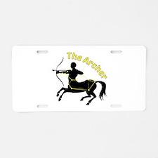 The Archer Aluminum License Plate