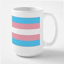 Transgender Pride Flag Large Mug
