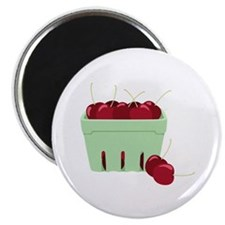 Cherries Basket Magnets