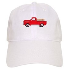 Antique Farm Truck Baseball Baseball Cap