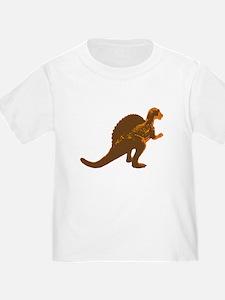 Retro Orange Spinosaurus T