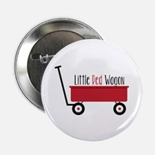 """Little Red Wagon 2.25"""" Button (10 pack)"""
