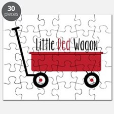 Little Red Wagon Puzzle