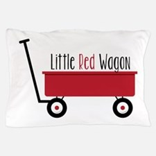 Little Red Wagon Pillow Case