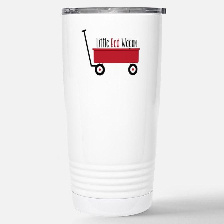 Little Red Wagon Travel Mug