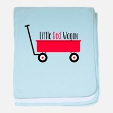 Little Red Wagon baby blanket