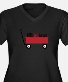 Little Red Wagon Plus Size T-Shirt