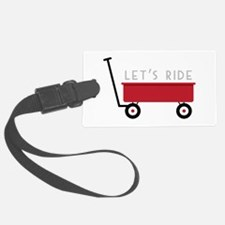 Let's Ride Luggage Tag