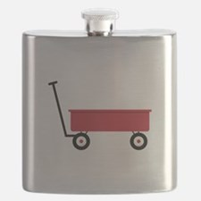 Red Wagon Flask