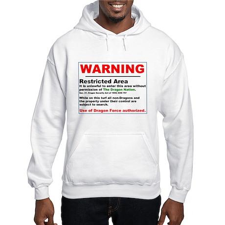 Dragon Force Warning Hooded Sweatshirt
