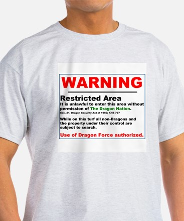 Dragon Force Warning T-Shirt