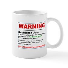 Dragon Force Warning Mug