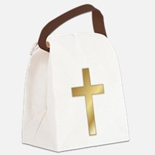 crossgold2.png Canvas Lunch Bag