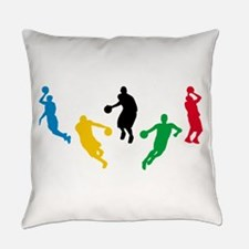 Basketball Players Everyday Pillow