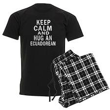 Keep Calm And Ecuadorean Desig Pajamas