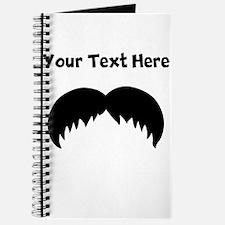 Custom Walrus Mustache Journal