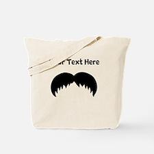 Custom Walrus Mustache Tote Bag