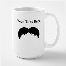 Custom Walrus Mustache Mugs