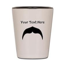 Custom Mustache Shot Glass