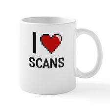 I Love Scans Digital Design Mugs