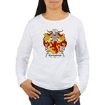 Carcasona Family Crest Women's Long Sleeve T-Shirt