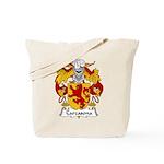 Carcasona Family Crest Tote Bag