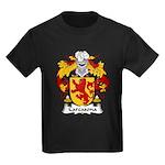 Carcasona Family Crest Kids Dark T-Shirt