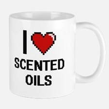 I Love Scented Oils Digital Design Mugs
