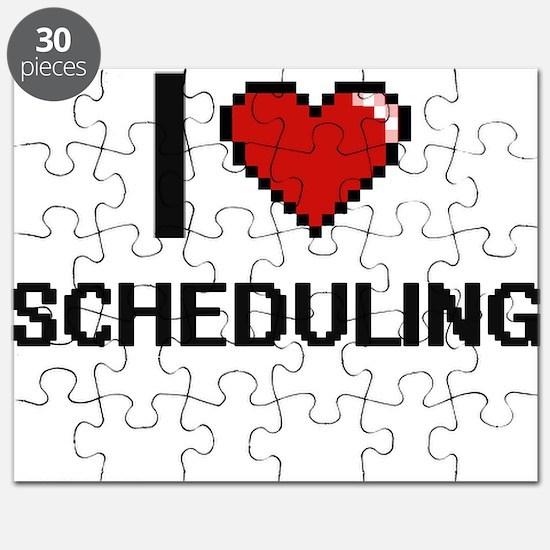 I Love Scheduling Digital Design Puzzle